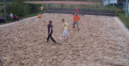 Beachfussball