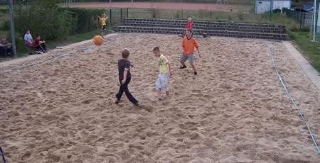 Beachfussball