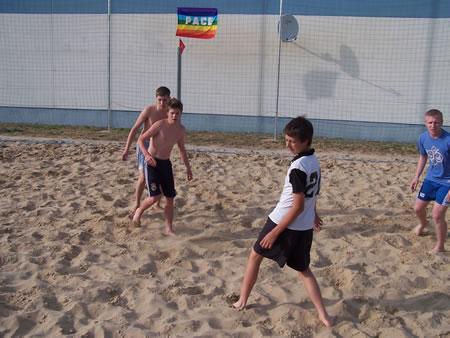 Beachfussball Turnier