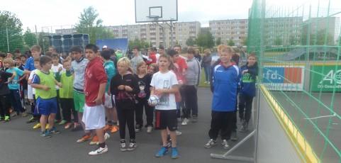 Teilnehmerrekord beim Streetsoccer