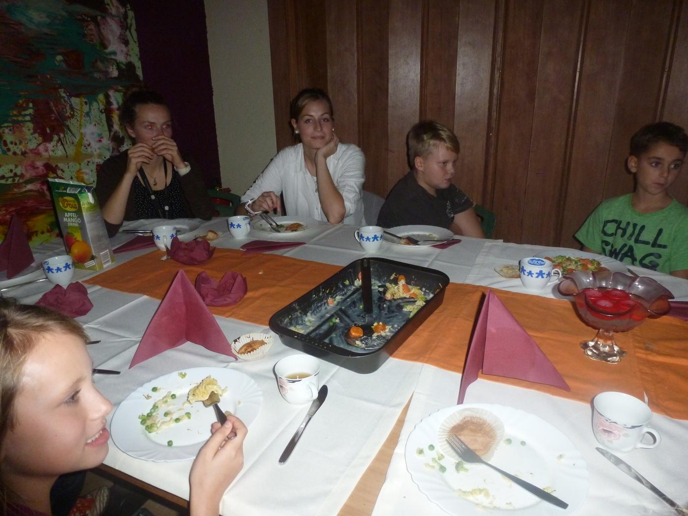 Kochangebot von den OSZ Schülerin